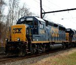 CSX 6244 brings up the rear of C964